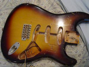 1999 American USA Fender Relic Strat Stratocaster Body Guitarwacky.com