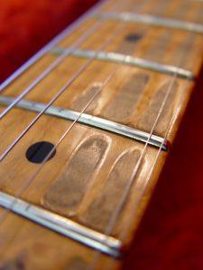 1999 American USA Fender Relic Strat Stratocaster Neck Fingerboard Guitarwacky.com