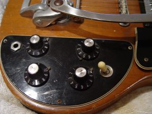 1974 Gibson SG Deluxe Controls Witch Hats Guitarwacky.com