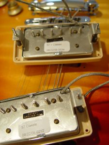 Gibson Les Paul Classic 57 Humbucker Pickups Guitarwacky.com