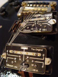 Gibson Les Paul Bill Lawrence Humbucker Pickups Guitarwacky.com