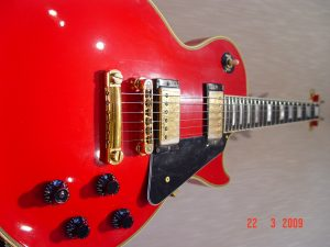 Gibson Les Paul Custom Ferrari Red