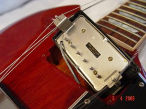 Gibson SG Custom Shop Pickup Cavity Guitarwacky.com