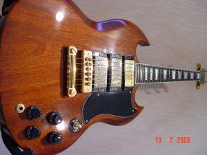 1978 Gibson SG Custom Guitar 3 Pickup Guitarwacky.com