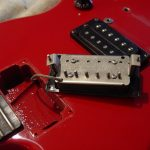 Gibson SG Ferrari Red Pickup Cavity Guitarwacky.com