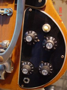 1974 Gibson SG Deluxe Controls Witch Hat Knobs Guitarwacky.com