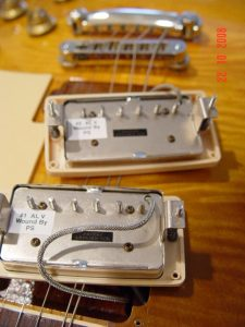 Gibson Les Paul Guitar Burstbucker Pickups Guitarwacky.com