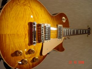 Gibson Les Paul Plus Guitar Bookmatched Chevron Top Guitarwacky.com