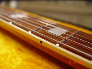 Gibson SG Custom Shop Neck Binding Guitarwacky.com
