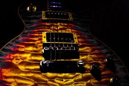 Gibson Les Paul Quilt top Guitar Guitarwacky.com