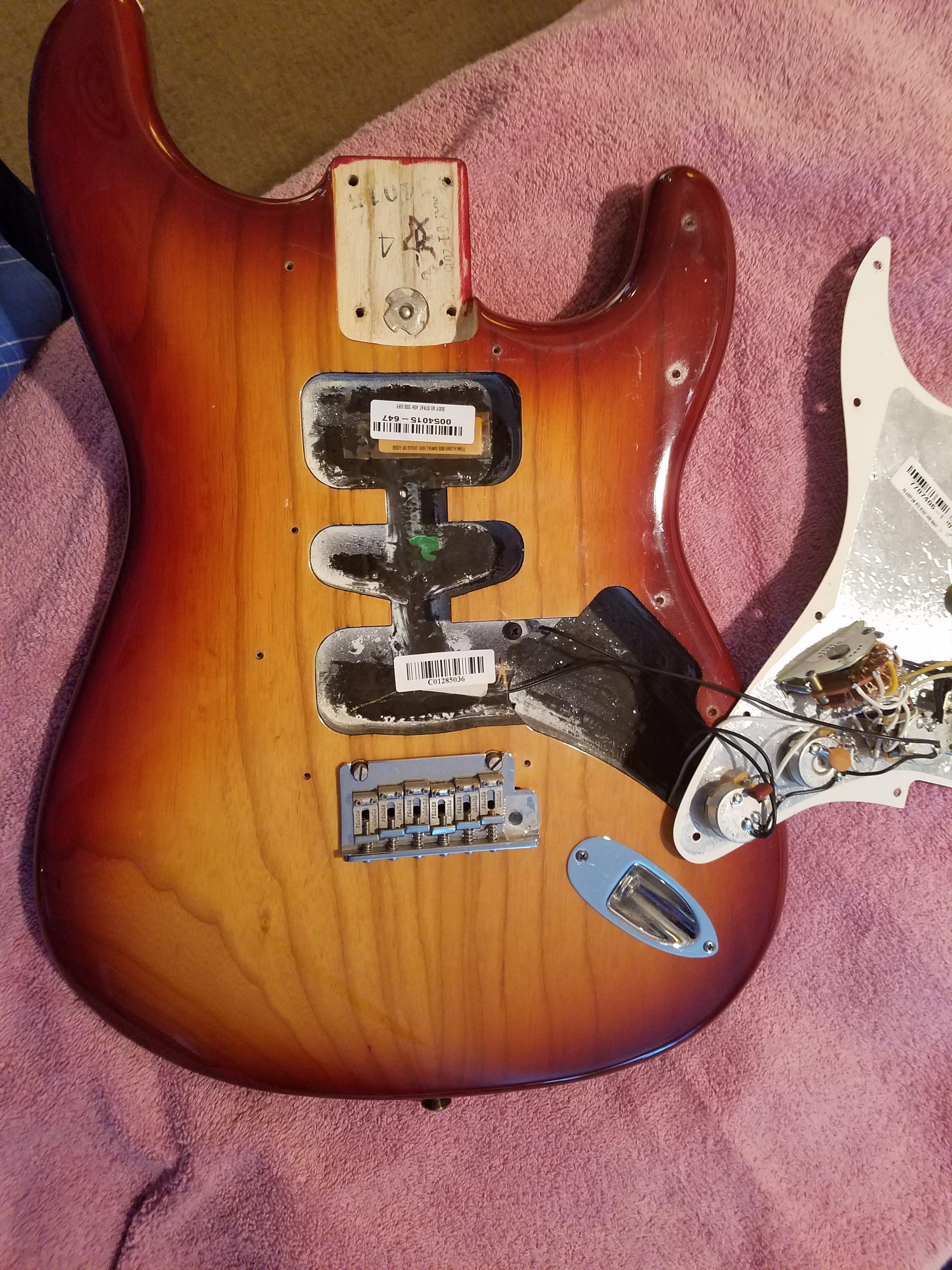 American Standard SSH Shawbucker Stratocaster