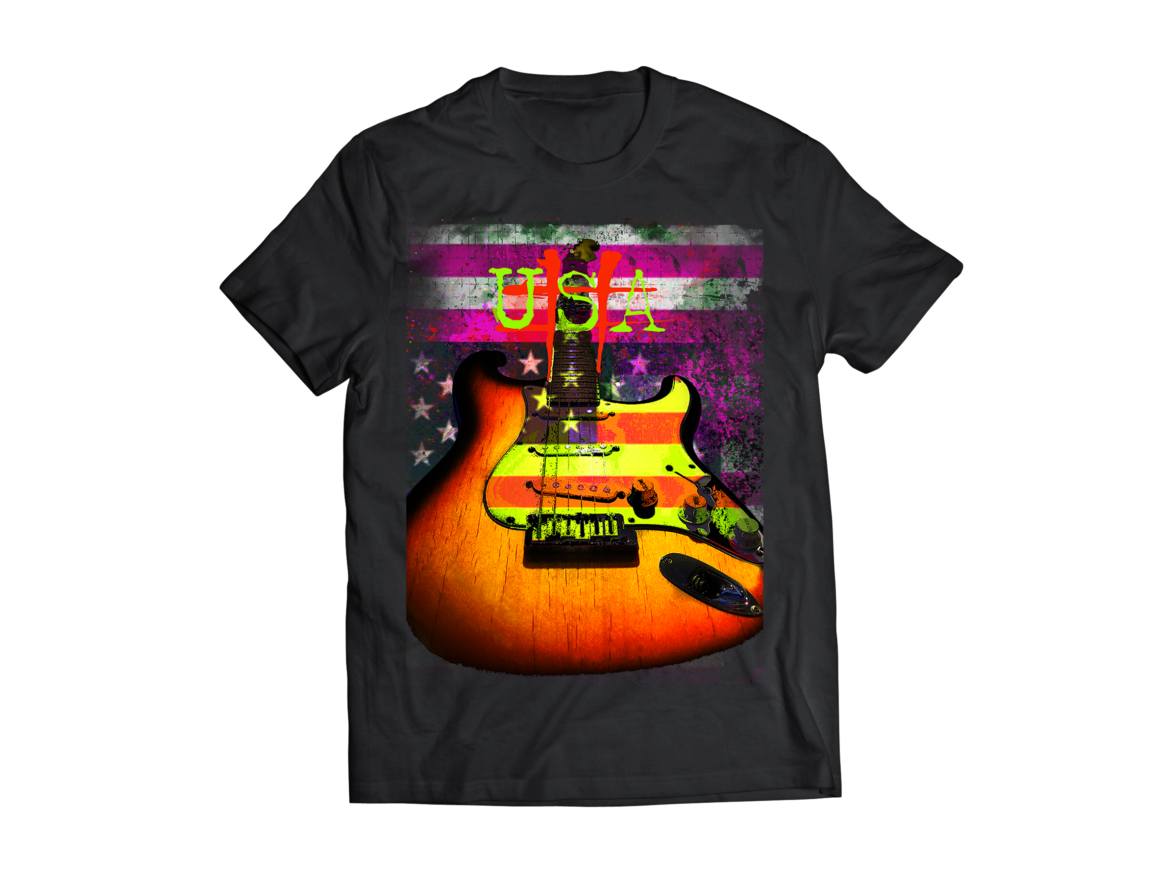 Custom Guitar Player T-Shirts