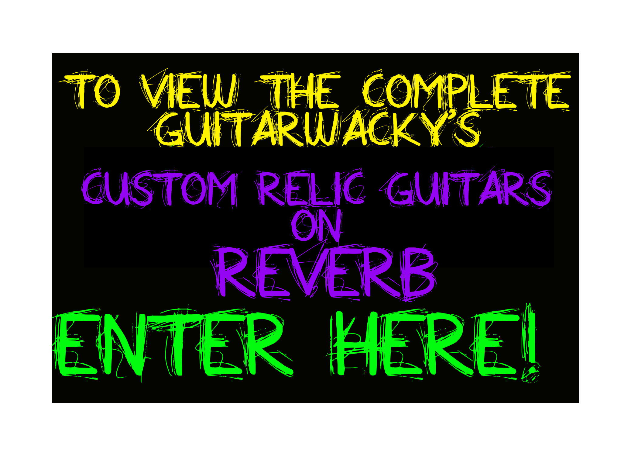 Relic Guitars for Sale Guitarwacky.com