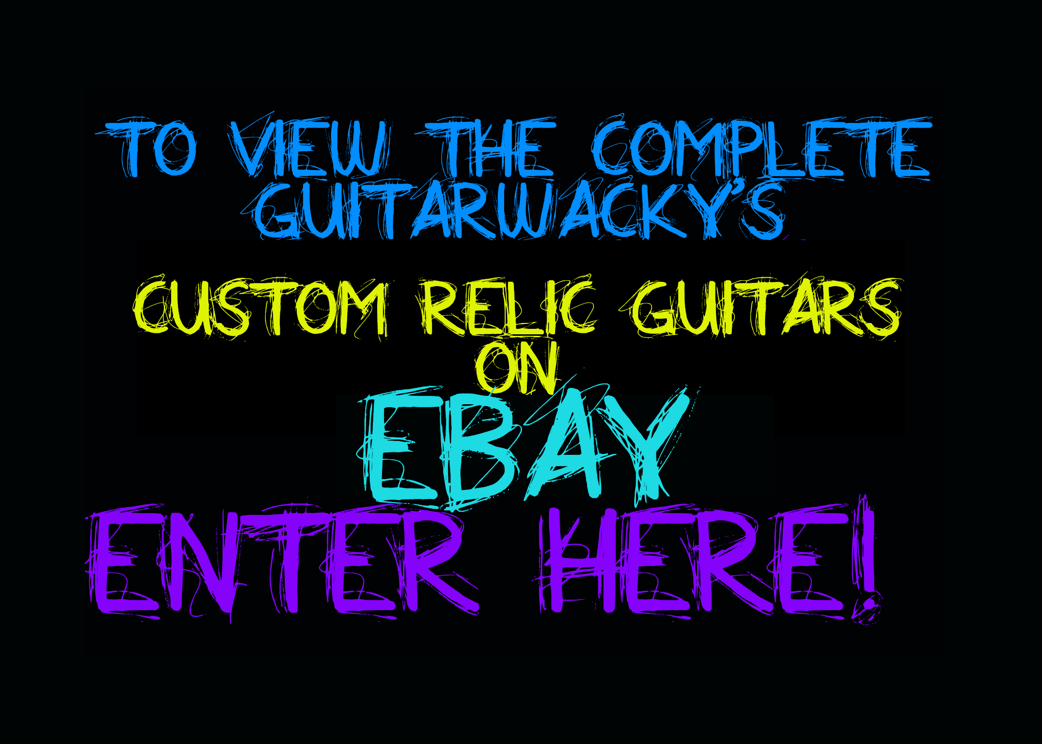 Relic Guitars for Sale Guitarwacky.com