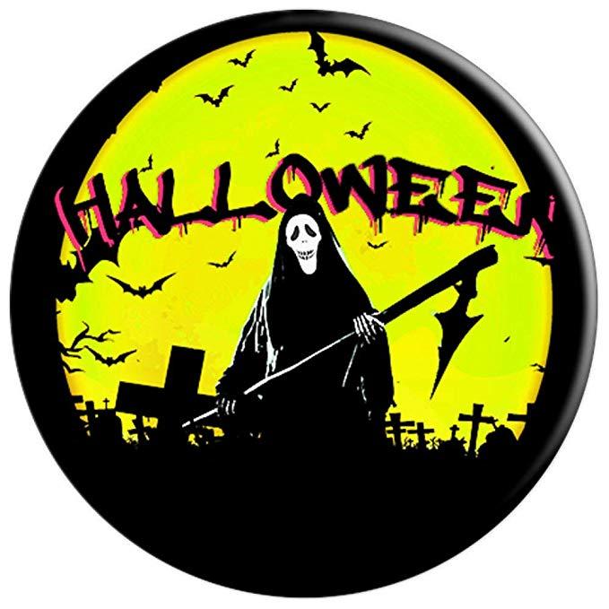 Scary Halloween Graveyard Popsocket Guitarwacky.com