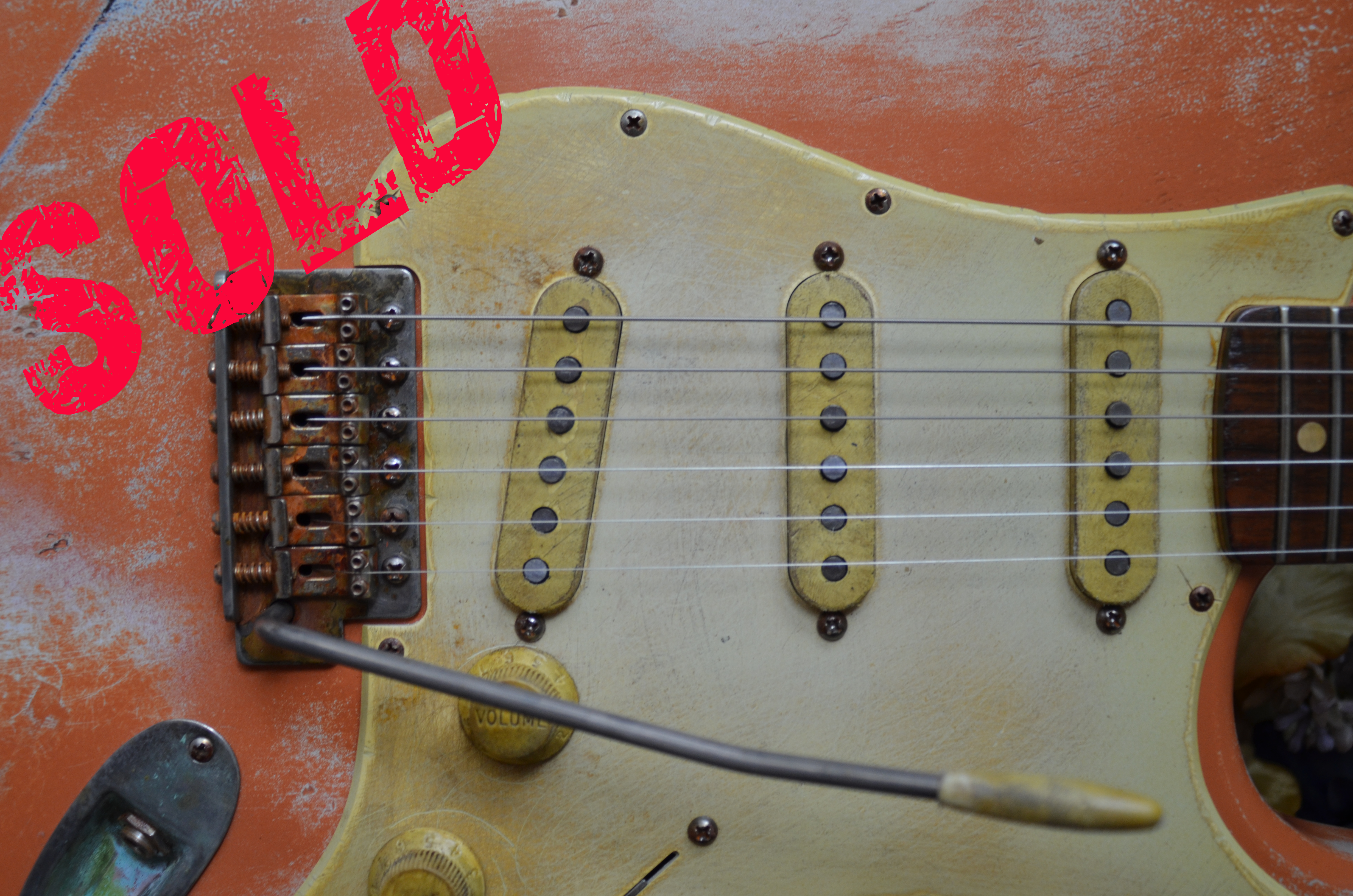 Fender Stratocaster Coral Relic Sold Guitarwacky.com