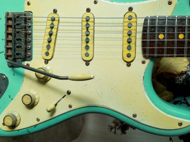 Surf Green Custom Fender Stratocaster Relic