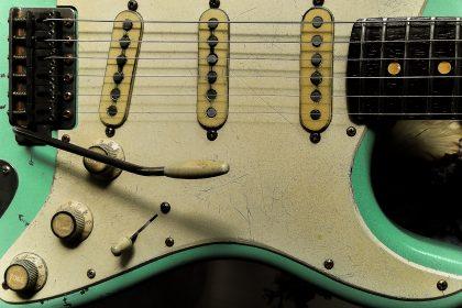 Surf Green Fender Stratocaster Guitarwacky.com