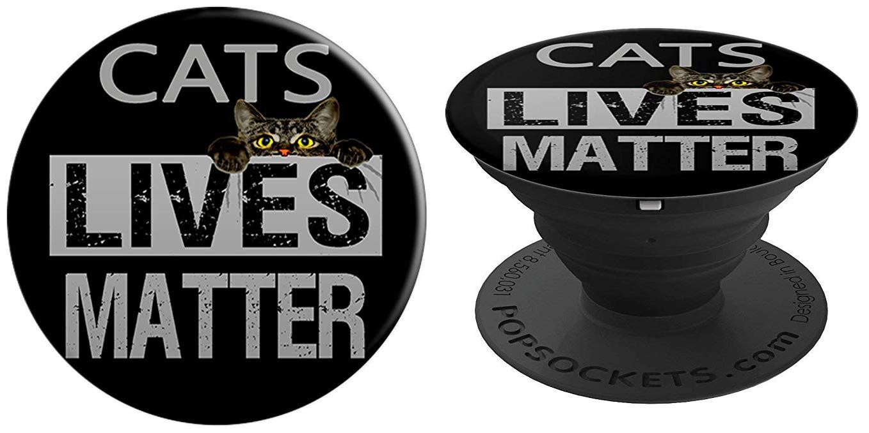 Cats Lives Matter Popsocket-Amazon.com