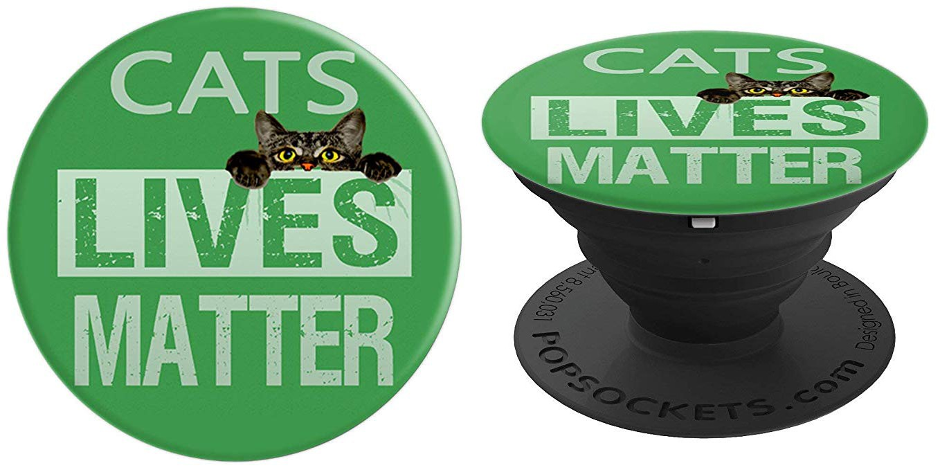Cats Lives Matter Popsocket Amazon.com