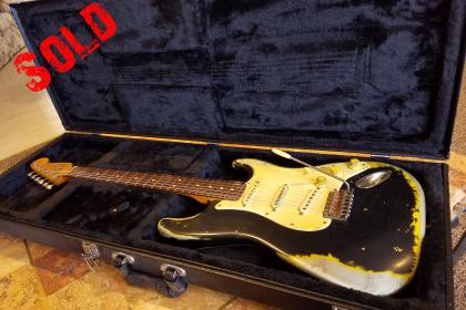 Fender Strat Relic Black