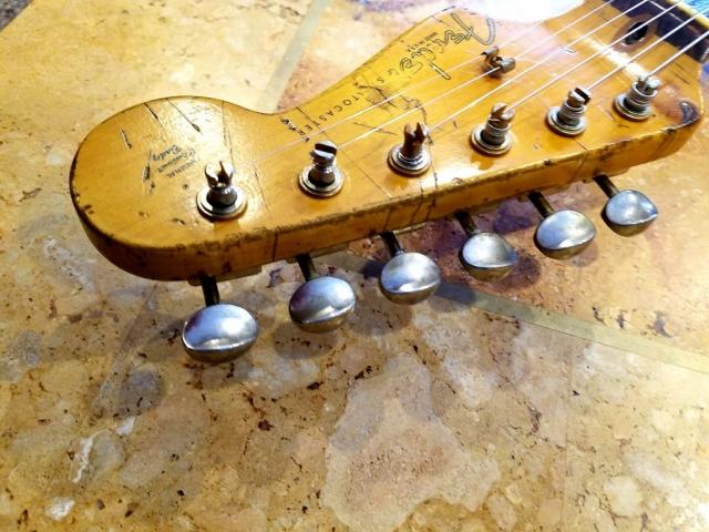 Fender Stratocaster Headstock Relic Guitarwacky.com
