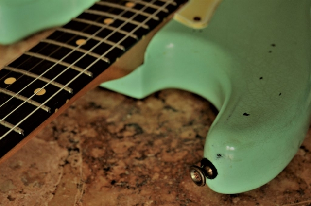 Fender Stratocaster Relic Surf Green Hor Bout  Guitarwacky.com