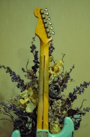 Fender Stratocaster Neck Wear Tuners Guitarwacky.com