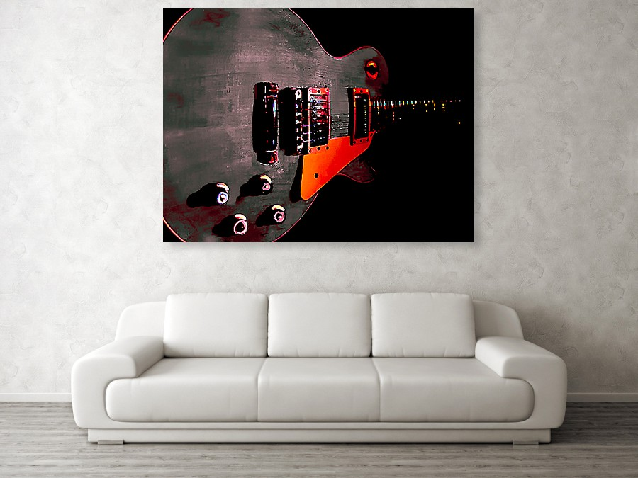 One-Off Guitar Wall Art from Guitarwacky.com