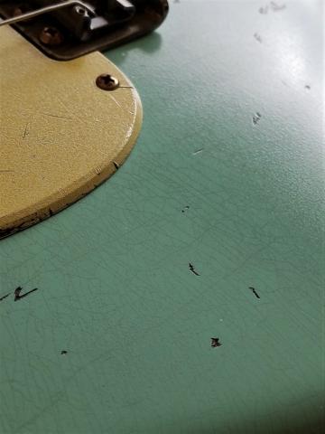 Fender Stratocaster Relic Surf Green Guitarwacky.com