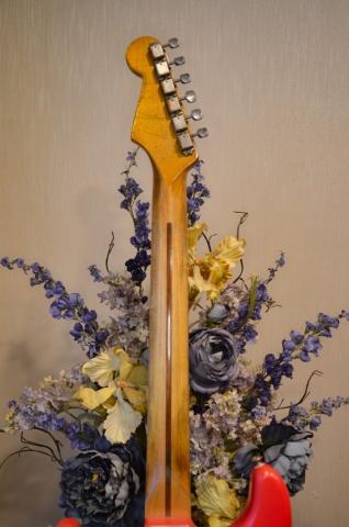 Fender Stratocaster Relic Fiesta Red Neck Guitarwacky.com