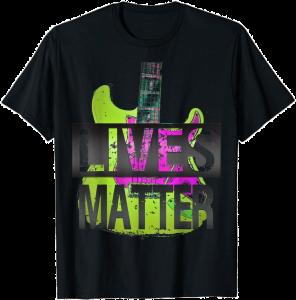 Guitar lives Matter