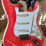 Fender Stratocaster Fiesta Red Relic Body Guitarwacky.com