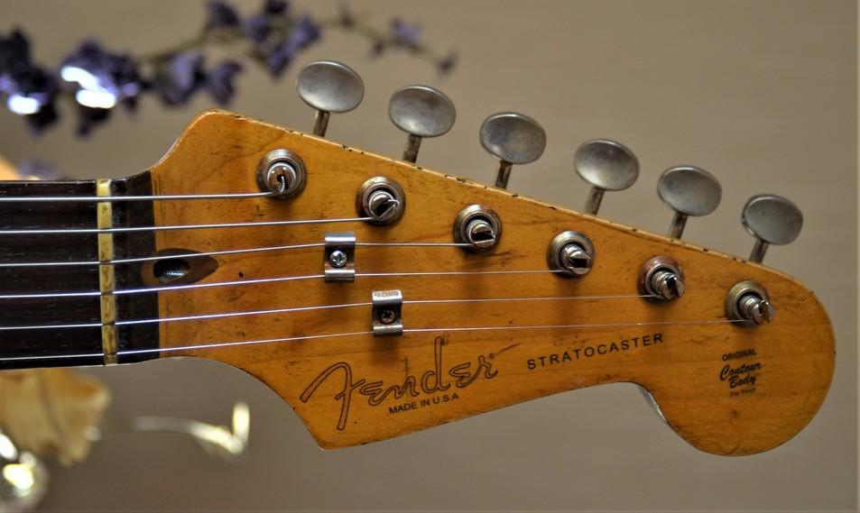 Fender Stratocaster Relic Neck Headstock Guitarwacky.com