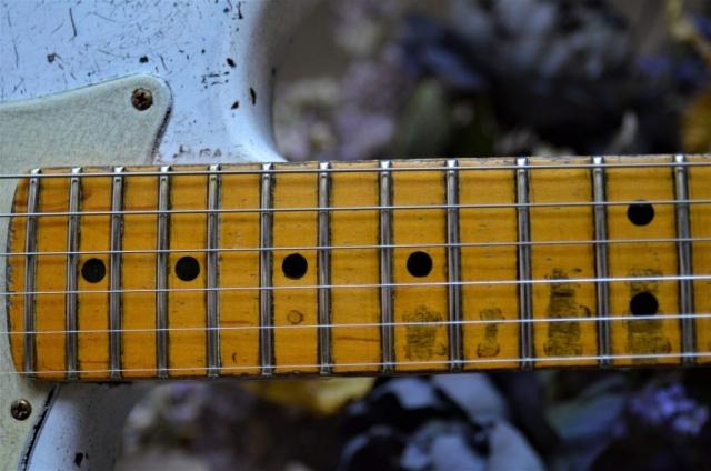 Custom Shop Fender Stratocaster Relic Aged Neck Frets Guitarwacky.com