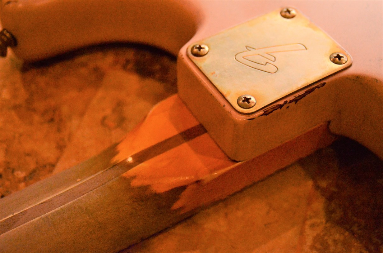 Fender Stratocaster Heavy Relic Neck Plate Guitarwacky.com