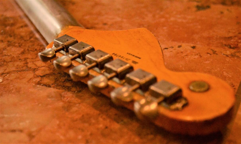 Fender Stratocaster Heavy Relic Neck Headstock Guitarwacky.com