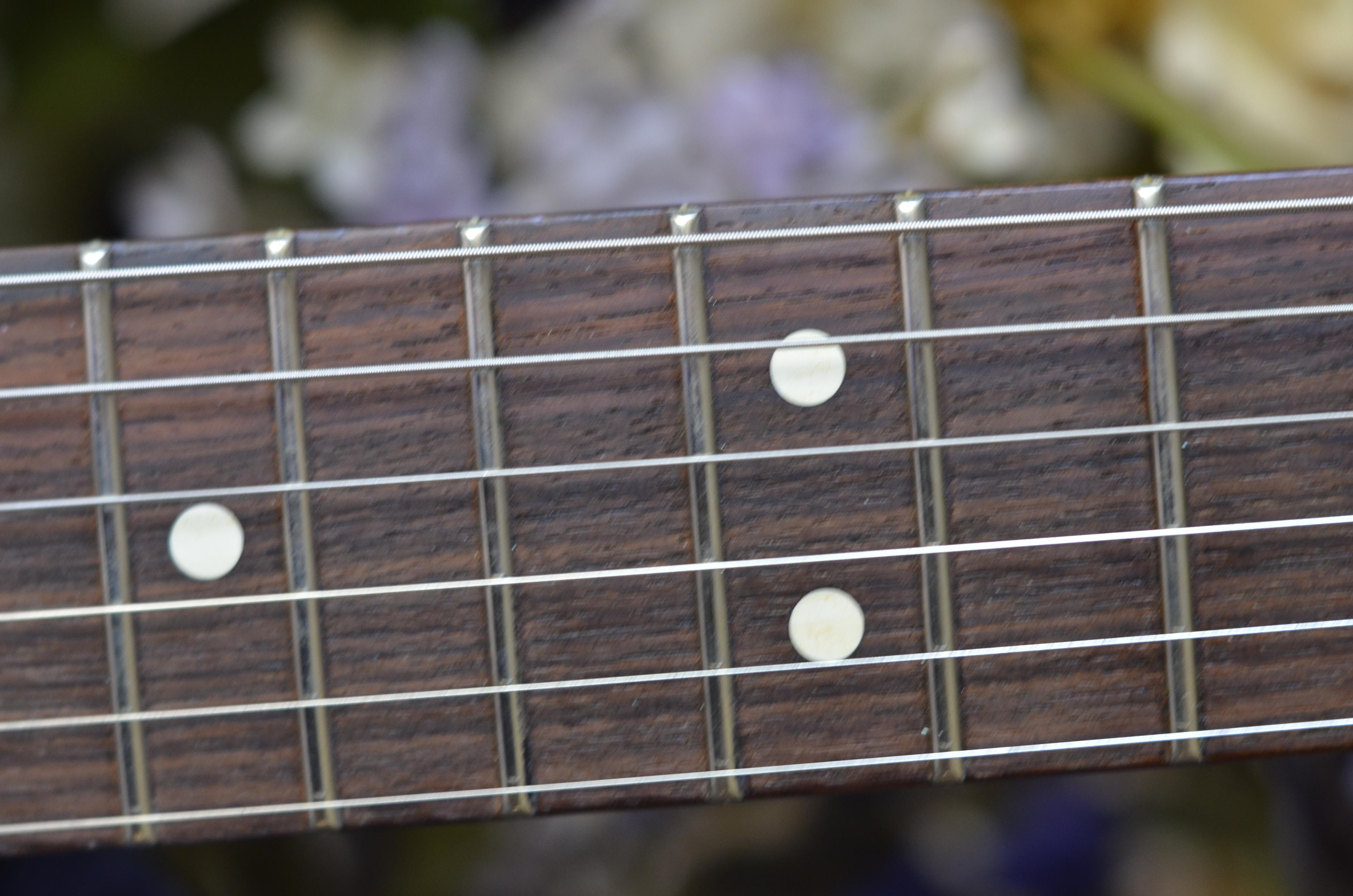 Rosewood fret board
