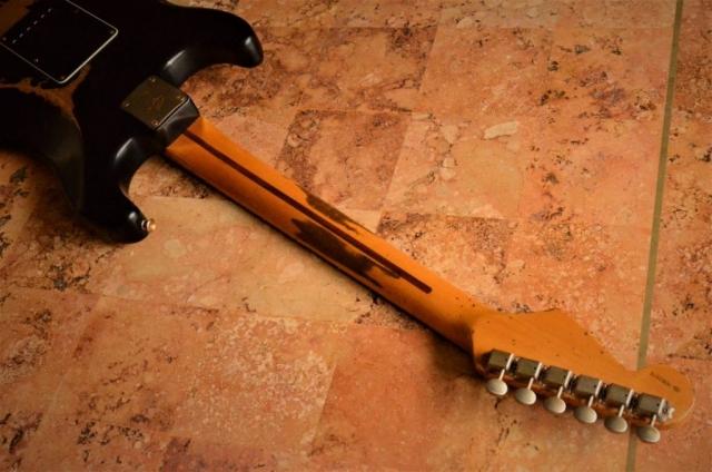 Fender Stratocaster Relic Neck Flame Guitarwacky.com