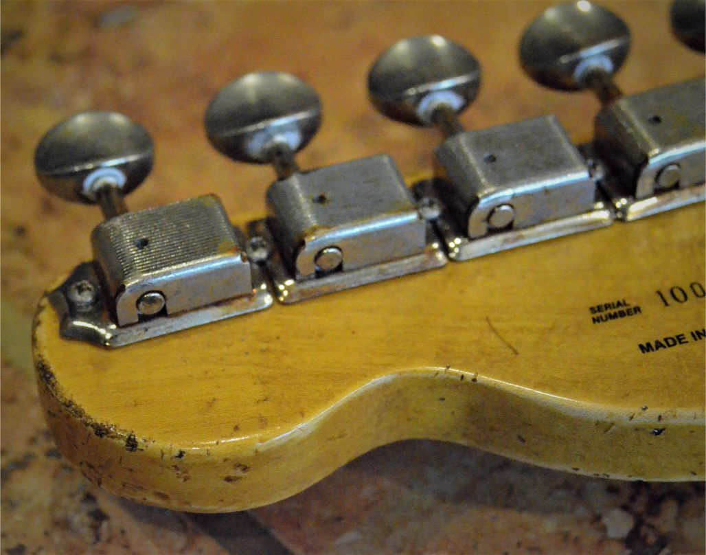 Fender Telecaster Relic Maple Neck  Rust Vintage Tuners Guitarwacky.com