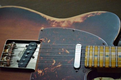 Fender Telecaster Sunburst Heavy Relic Texas Specials Guitarwacky