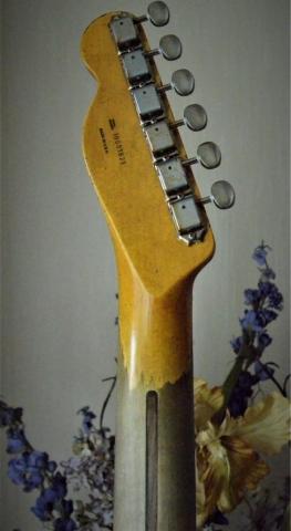 Fender Telecaster Heavy Relic Sanded Neck Guitarwacky.com