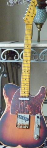 Fender Telecaster Sunburst Relic Guitarwacky.com