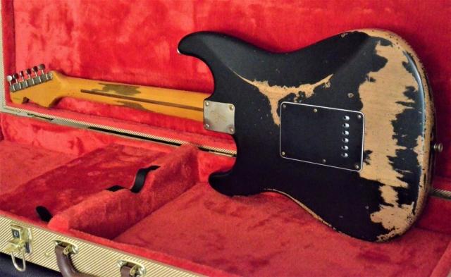 Fender Stratocaster Black Relic Guitarwacky.com