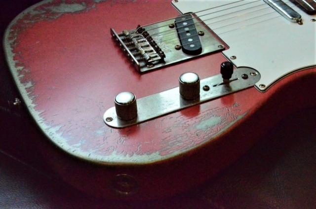Fiesta Red Fender Telecaster Heavy Relic Fiesta Red Guitarwacky.com