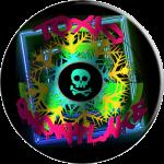 Toxic Snowflake Popsocket
