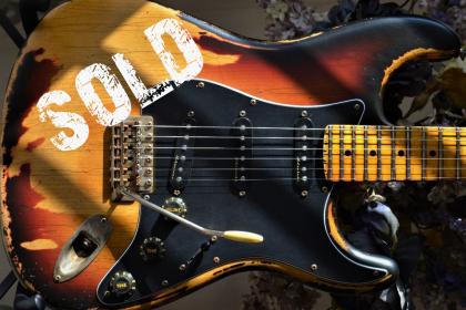 Fender Stratocaster Sunburst Relic Guitarwacky.com