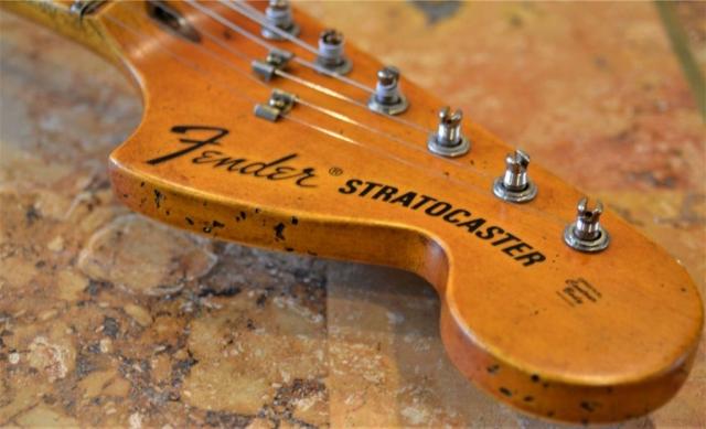 Relic Stratocaster Headstock Guitarwacky.com
