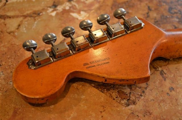Fender Headstock Relic Stratocaster Guitarwacky.com