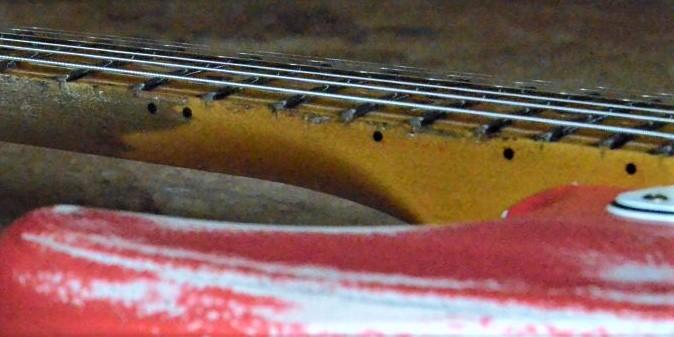 Aged-relic Neck Fender Stratocaster Guitarwacky.com